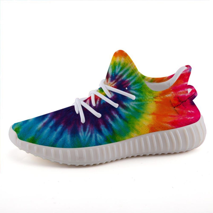 Shop Nixxle handmade apparel sneakers Shoes US 3 Men - US 5 Women (35 EU) Float 365 - Haight Tie Dye