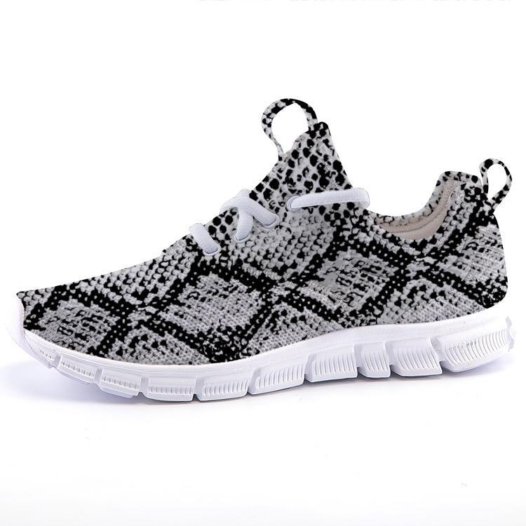 Shop Nixxle handmade apparel sneakers Shoes 35 UltraLite - Black Snakeskin