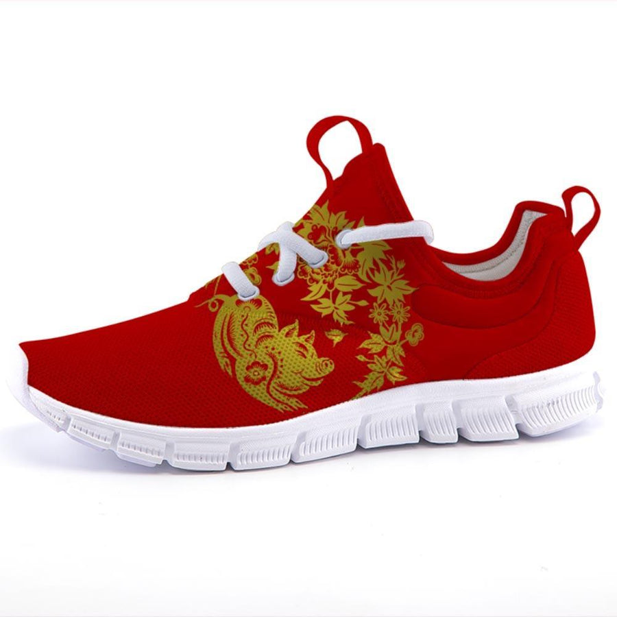 Shop Nixxle handmade apparel sneakers Shoes US 3 Men - US 5 Women (35 EU) UltraLite - Year of the Pig