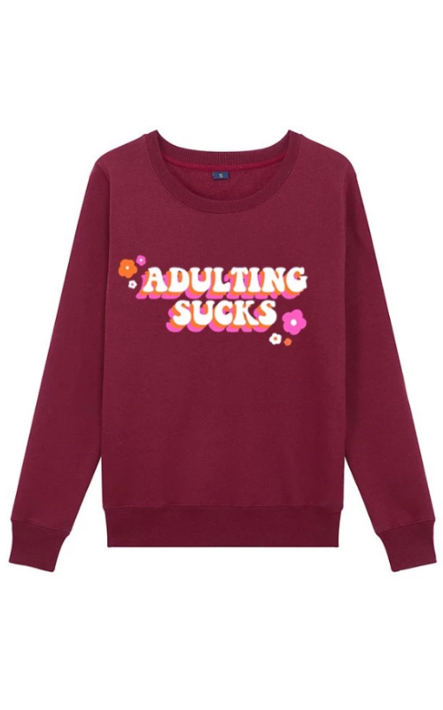 Adulting Sucks Crewneck