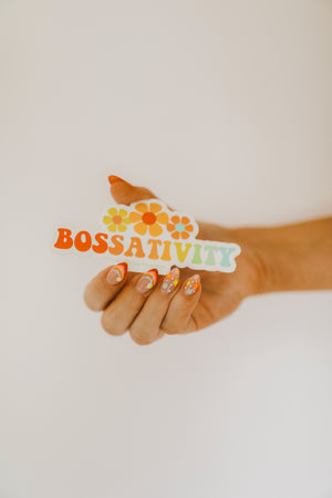 """Bossativity"" Sticker"