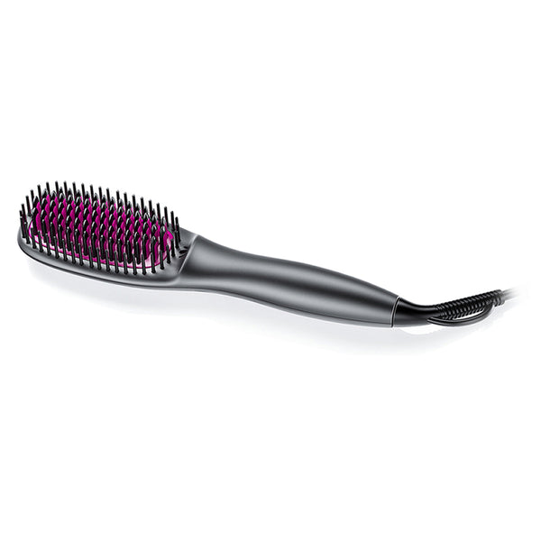 FURIDEN Hair Brush Straightener | Black
