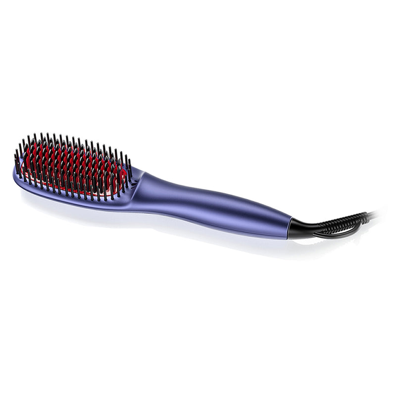 FURIDEN Hair Brush Straightener | Blue
