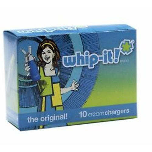 Whip-It Cream Chargers x 10