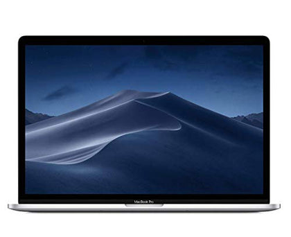 Apple MacBook Pro (15-Inch, Previous Model, 16GB RAM, 512GB Storage, 2.6GHz Intel Core i7) - Silver