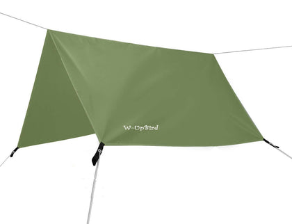 Provided Camping Tarp Shelter Sun Shade Lightweight Hammock Rain Fly Waterproof With Guyline Ropes & Storage Travel Bag Outdoor Tools