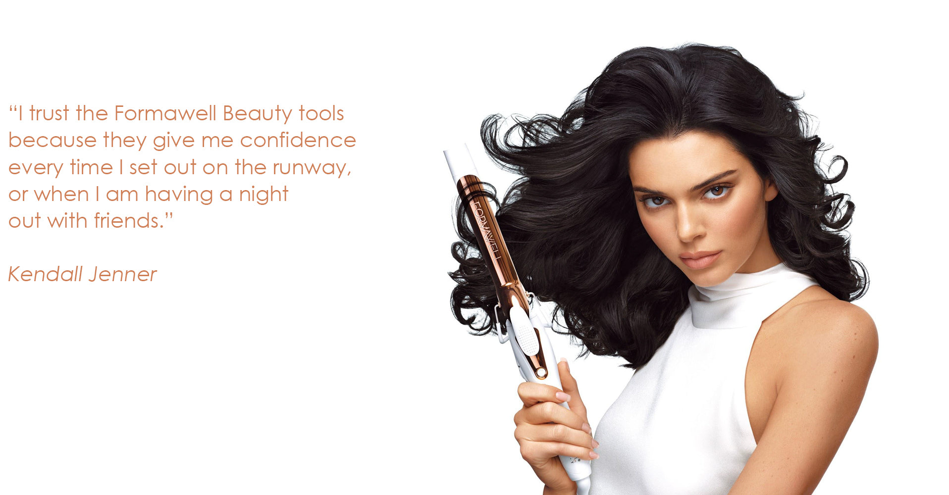 Kendall Jenner X Formawell beauty