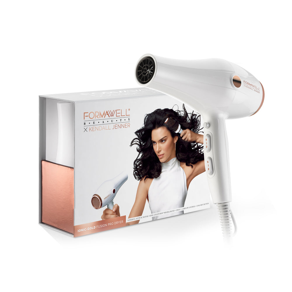 FORMAWELL X KENDALL JENNER IONIC GOLD FUSION PRO DRYER