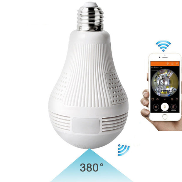 Smart Wireless Camera Bulb Light