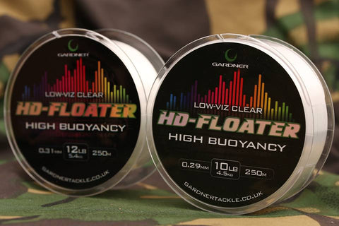 HD-Floater Line 12lb (5.4kg) Low-Viz Clear 0.31mm