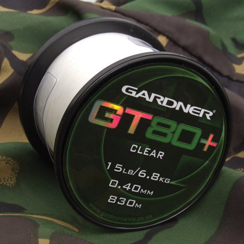 GT80+  15lb (6.8kg)  CLEAR 0.40mm