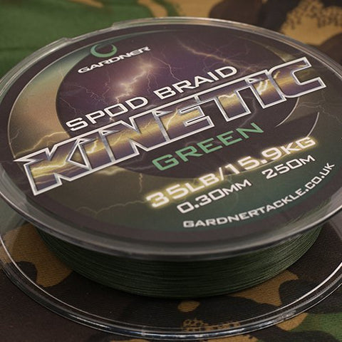 KINETIC SPOD BRAID 35lb (15.9kg) 0.32mm    *NEW/IMPROVED*