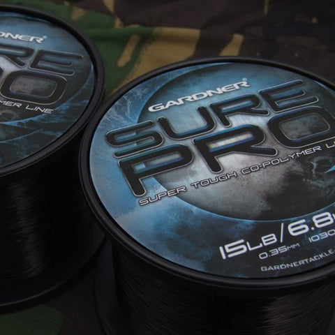 SURE PRO 15lb (6.8kg) BLACK 0.35mm