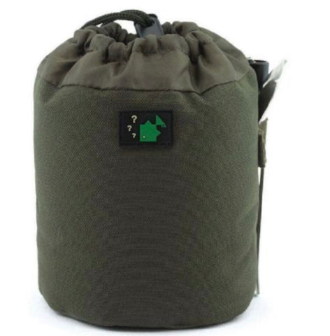 Thinking Anglers Olive Gas Canister Pouch