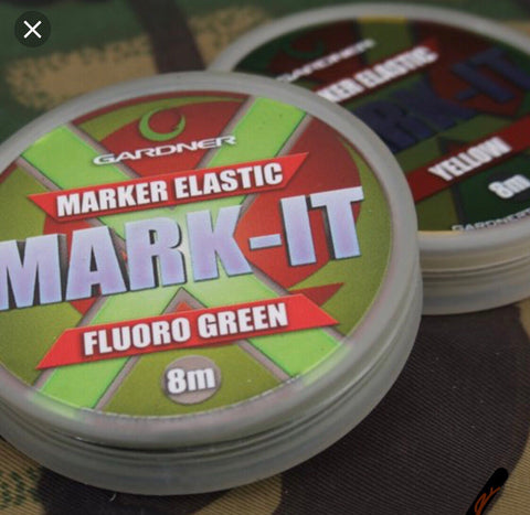 MARK-IT MARKER ELASTIC (8m) YELLOW