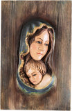 Saint Mother Mary with Baby Jesus (Model 1)-Viktor-Art
