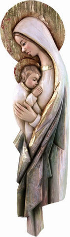 Saint Mary with Baby Jesus - Pure Love-Viktor-Art