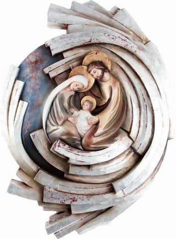 Holy Family - Hearth and Home - Twister-Spiral (Model 5) - Silver leaf-Viktor-Art