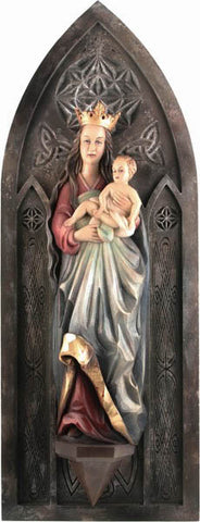 Saint Mary and Baby Jesus - Gothic style-Viktor-Art