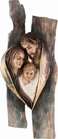 Holy Family - Hearth and Home - Heart Design (Model 13)-Viktor-Art