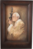 Pope - John Paul II - Engraved Signature-Viktor-Art