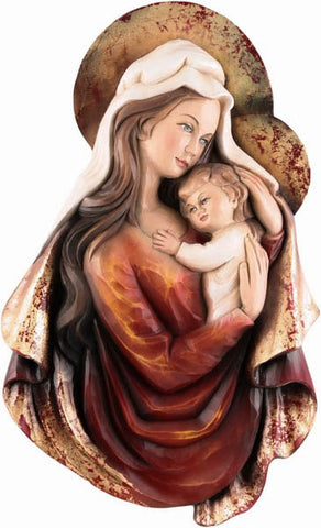 Saint Mary and Baby Jesus - The Symbol of Mother Love-Viktor-Art