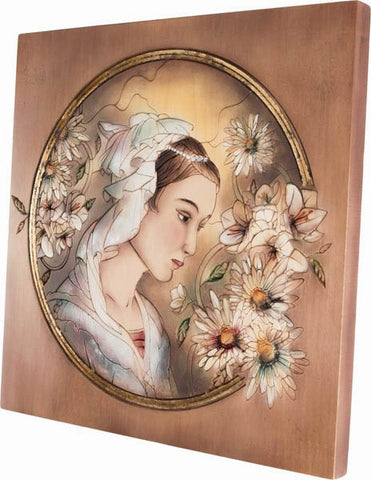 Wooden Engraved Painting (Model 2), decor, Decoration, engraved, Handpainted, wooden sculpture gift present Viktor-Art, Looking for a new style of paintings?! Viktor-Art is offering you unique wooden engraved paintings! Buy Now! High precision engraving in beech wood. Hand painted by licensed polish artists. Made in Poland. Engraved Woman Portrait D-GW/02 Engraved Painting Dimensions: (as per variant) Material: maple wood