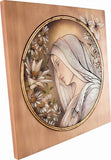 Wooden Engraved Painting (Model 1), Decoration, engraved, Handpainted, Wall Decor, wooden sculpture gift present Viktor-Art, Looking for a painting to your living room, but you feel like they all look the same? Be unique! Buy Viktor-Art wooden engraved paintings now! Beech wood, 3D engraved and hand painted. Made in Poland. Engraved Woman Portrait D-GW/01 Engraved Painting Dimensions (as per variant) Material: maple wood