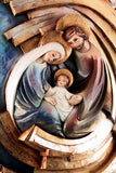 Holy Family - Hearth and Home - Twister-Spiral (Model 5) - Gold leaf-Viktor-Art
