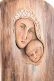 Saint Mary - The Folk style - Carved in tree-Viktor-Art