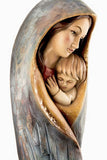 Saint Mary with Baby Jesus - Modern Wood version-Viktor-Art