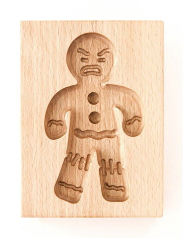 Gingerbread Form - Cookie mold (Gingy - Gingerbread Man Model - Angry!)-Viktor-Art