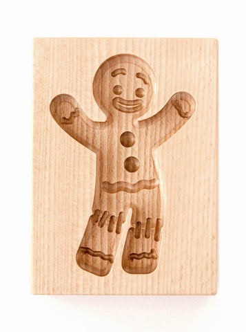 Gingerbread Form - Cookie mold (Gingy - Gingerbread Man Model - Party!)-Viktor-Art