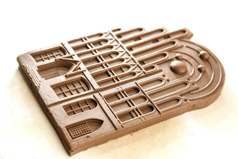 Gingerbread Form - Cookie mold (Nicolaus Copernicus house)-Viktor-Art