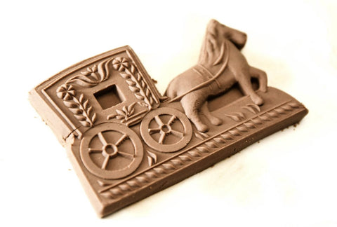 Gingerbread Form - Cookie mold (The Coach)-Viktor-Art