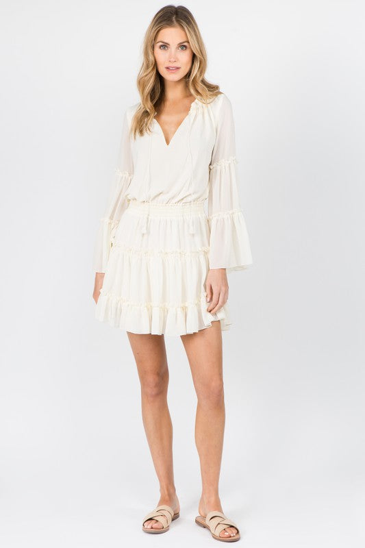 Capri Boho Bell Sleeve Dress