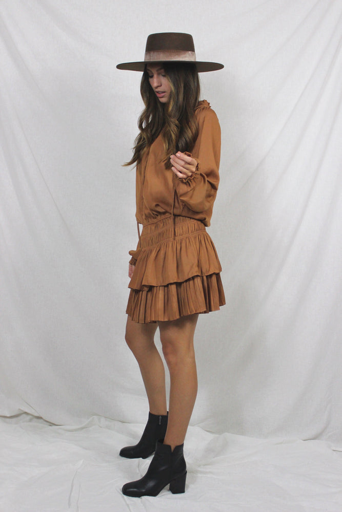 Caramel Counts Dress