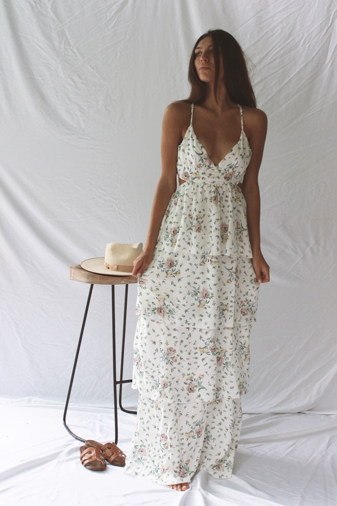 Floral Ocean Breeze Maxi - Fourth and Harper