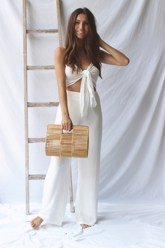 Forever White Two-Piece - Fourth and Harper