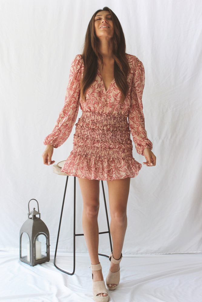 Loving You Blush Dress - Fourth and Harper