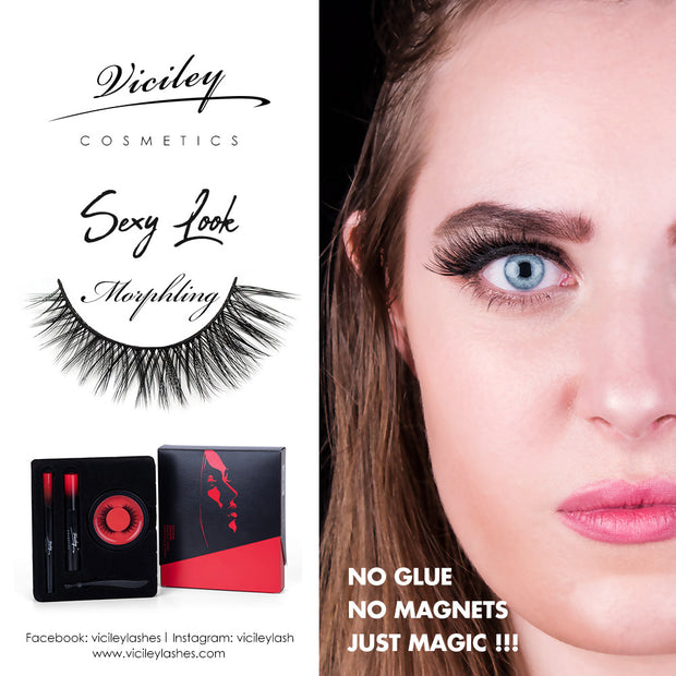 Viciley Magic Lashes Kit (3 Pairs) - Effect/Morphling
