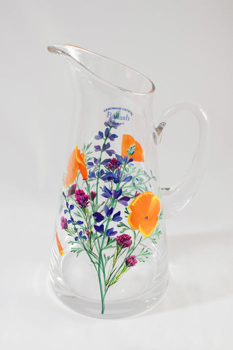 Meadow Crystal Pitcher