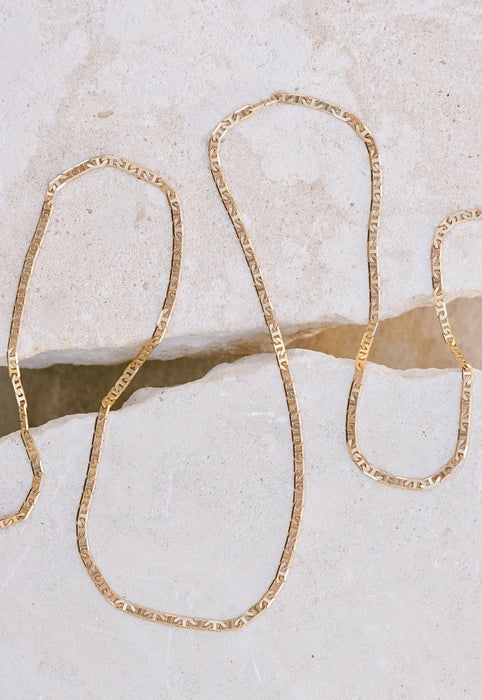 Everyday Essential Gold Layering Chain Necklace