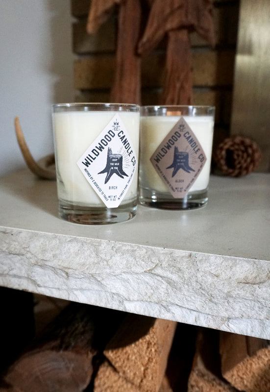 Idylwild Wildwood Candle Co. Birch