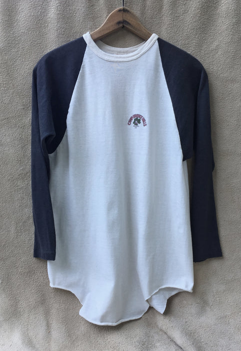 Vintage 1977 'Camp Beverly Hills' Baseball Tee