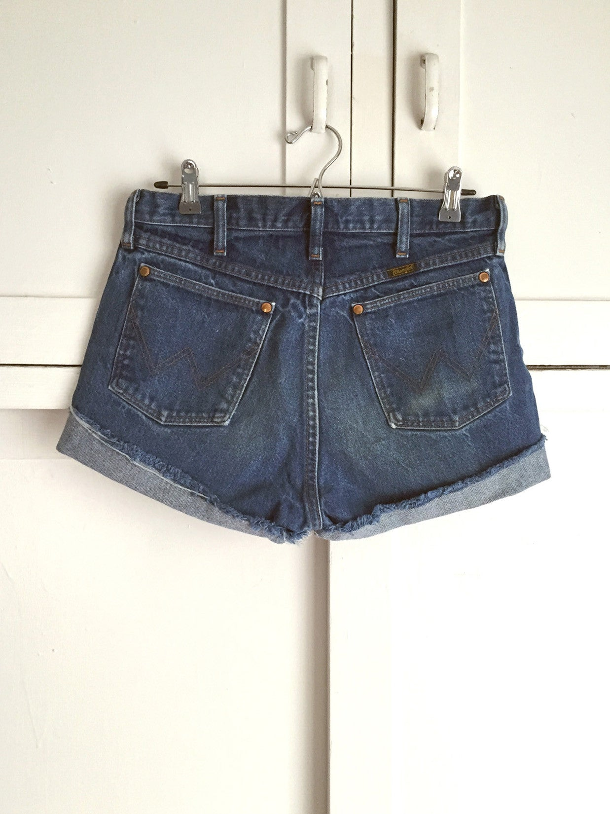 Vintage Denim 'Wrangler Butts Drive Me Nuts' Cutoffs