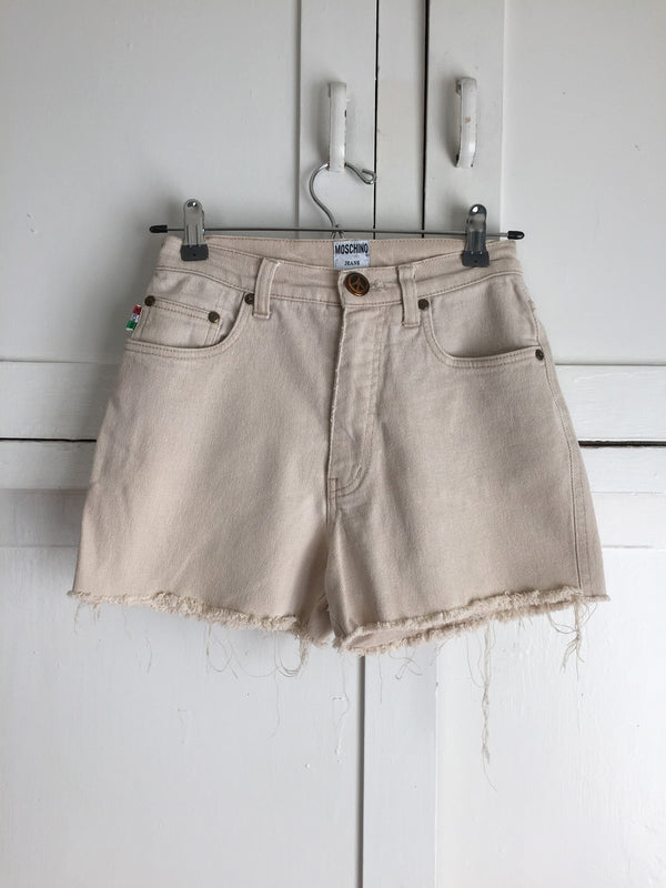 Vintage Tan Denim Moschino Cutoffs