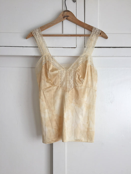 Romantic Hand Dyed Vintage Camisole
