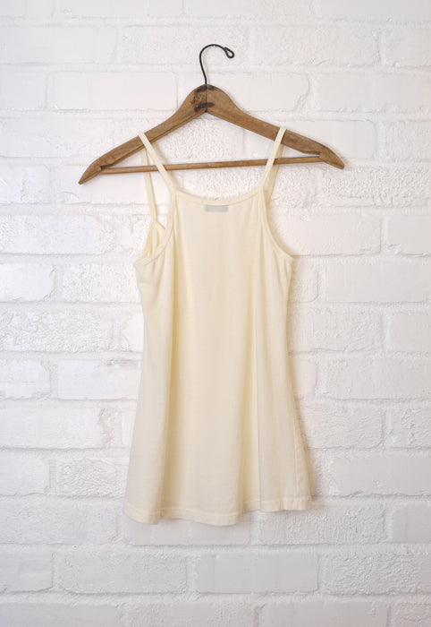 Idylwild Brand Premium Cotton Vintage Inspired Spaghetti Strap 100% Cotton Tank Top