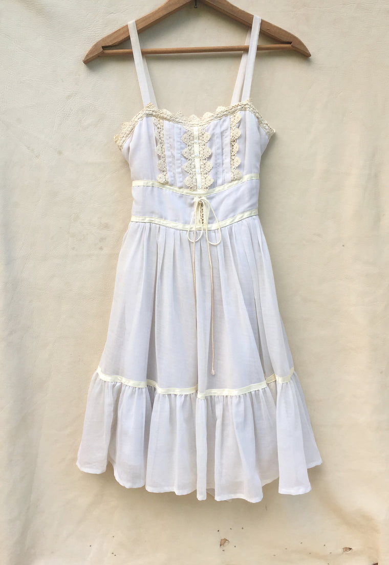 Vintage Girl's Prairie Dress